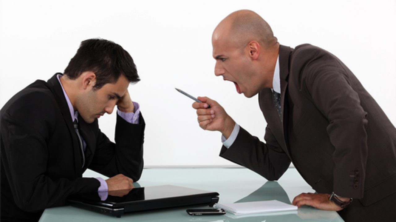 Is My Boss Yelling At Me A Hostile Work Environment?