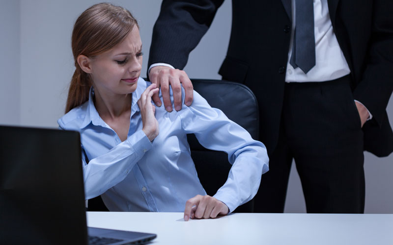 Most common sexual harassment at work