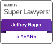Super Lawyers Jeffrey Rager 5 YEARS