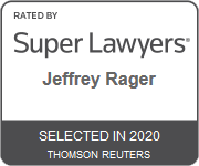 Super Lawyers Jeffrey Rager Selected in 2020