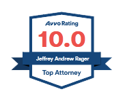 Avvo Rating 10.0  Jeffrey Andrew Rager